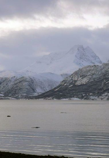 The Arctic Sea by Lyngen fjord