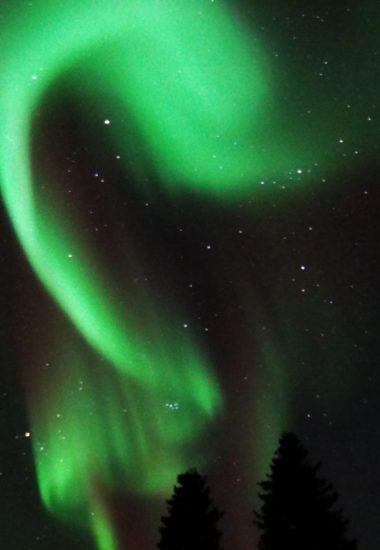 Gute Chancen ein Nordlicht zu sehen