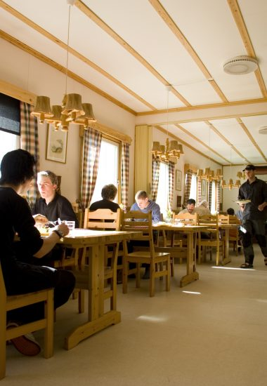 Eat in our restaurant.