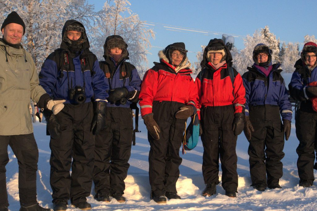 Photogroup in the Lapland Winter – 30,4 C