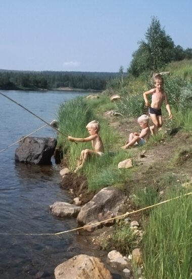Fiska i rena vatten!