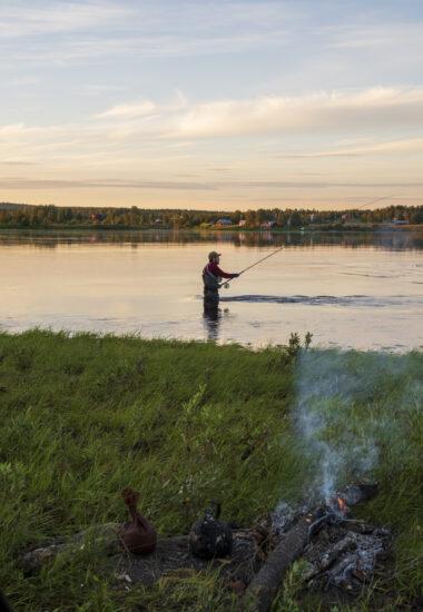 Fishing under the Midnight Sun!