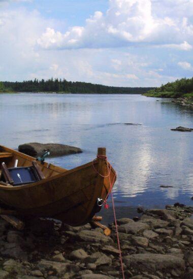 Die Möglichkeit, dass traditionelle Bootsangeln auszuprobieren!